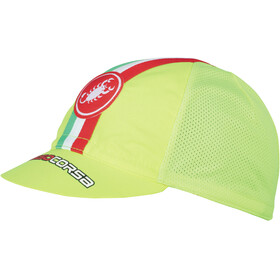 Castelli Performance Cycling Cap yellow fluo